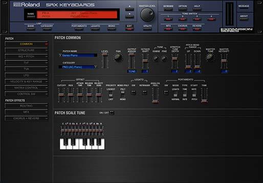 罗兰键盘音色 – Roland VS SRX Keyboards 1.0.4 WIN