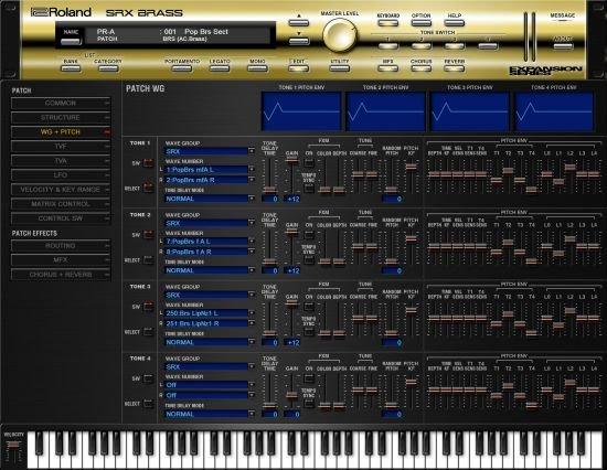 罗兰铜管乐 – Roland VS SRX Brass 1.0.2 WIN