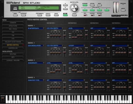 罗兰SRX系列扩展 – Roland VS SRX Studio 1.0.2 WIN