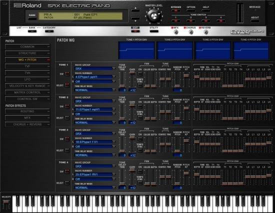 罗兰电钢琴 – Roland VS SRX Electric Piano 1.0.2 WIN