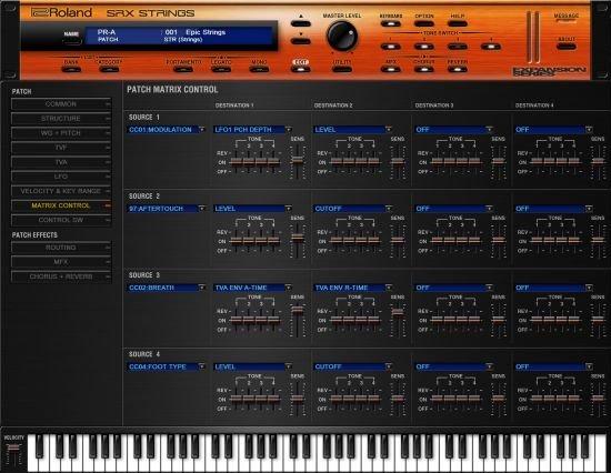 罗兰弦乐 – Roland VS SRX Strings 1.0.1 WIN