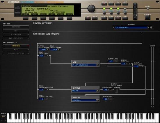 罗兰终极声音模块 – Roland VS XV-5080 1.0.2 WIN