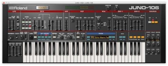 罗兰合成器 – Roland VS JUNO-106 v1.0.7 WIN