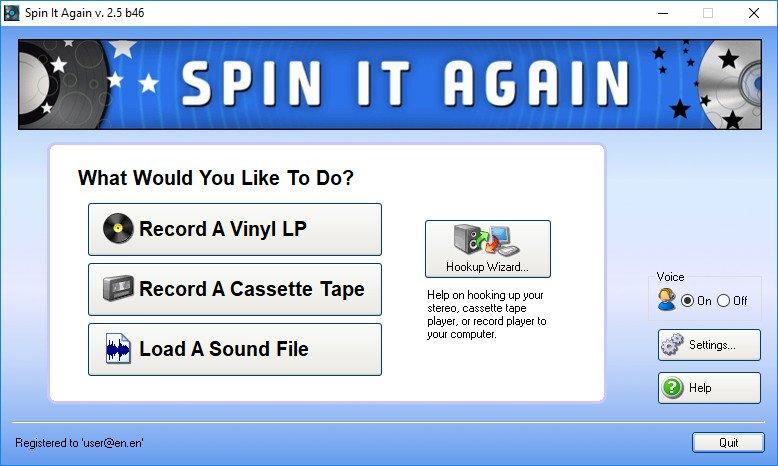 音频录音转换软件 – Acoustica Spin It Again 2.5 Build 46 WIN