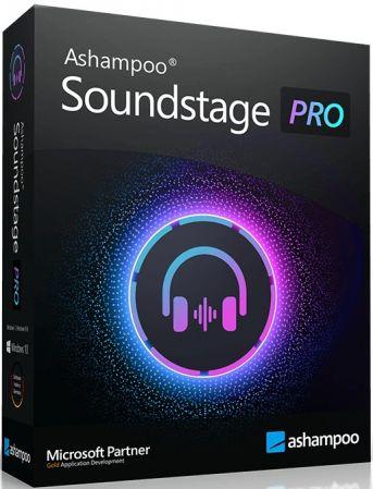 模拟立体环绕声软件 – Ashampoo Soundstage Pro 1.0.2 Multilingual WIN