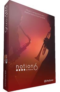 乐谱制作软件 – Presonus Notion 6.8.18060 WIN