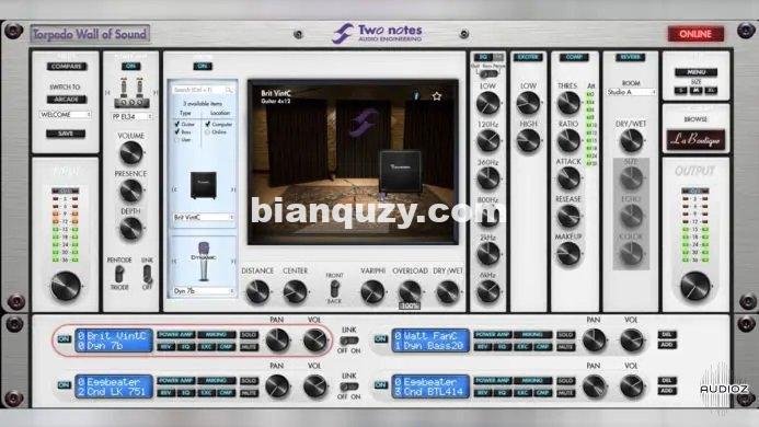 箱体模拟 – Two Notes Audio Engineering Torpedo Wall of Sound Win&Mac