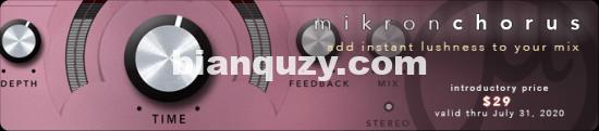 合唱效果器 – 112dB Mikron Chorus v1.0.0 Win
