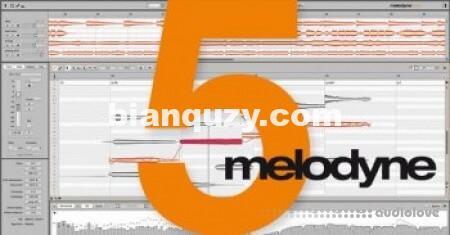 Celemony Melodyne 5 Studio v5.0.0.048 Mac版