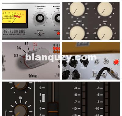 效果器套装 – Fuse Audio Labs Complete Bundle 2020.10 CE / 2019 [WiN, Mac]