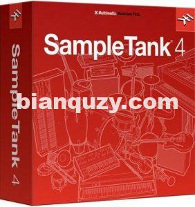 坦克采样器 – IK Multimedia SampleTank 4 v4.1.0 WiN/OSX-R2R