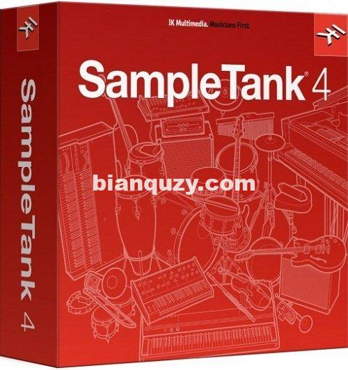 次时代采样器 – IK Multimedia SampleTank 4 v4.1.1 WiN/OSX-R2R
