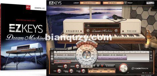 现代流行键盘音源 – Toontrack EZkeys Dream Machine v1.0.0 macOS-R2R