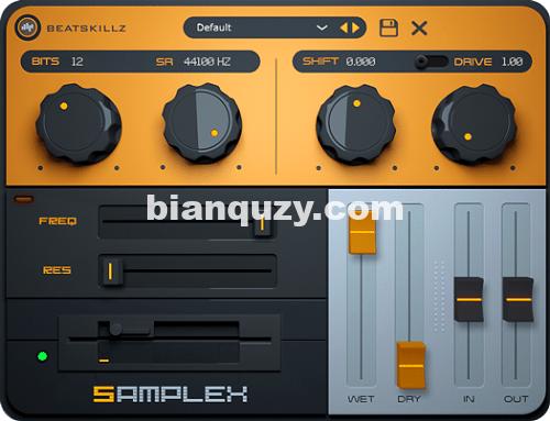 老式采样器仿真插件 – BeatSkillz SampleX v1.0.0 MacOS-RET
