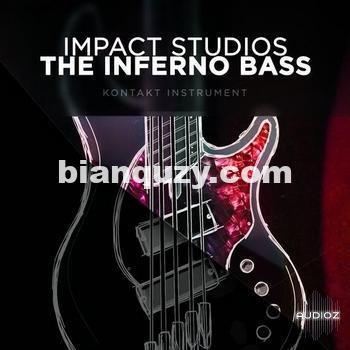 电贝司 – Impact Studios – The inferno Bass – DI + Pro for Kontakt