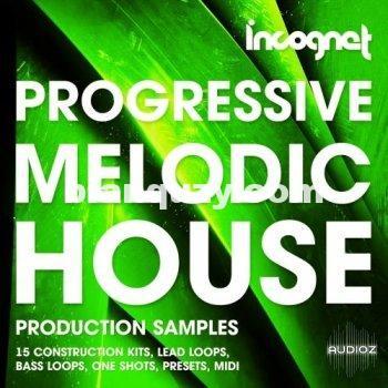 Incognet Progressive and Melodic House WAV MiDi Massive Spire Sylenth Serum Presets