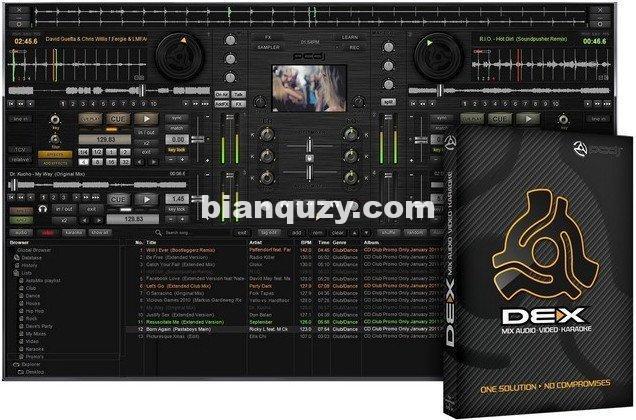 专业DJ软件 – PCDJ DEX 3.15.0.2 WIN