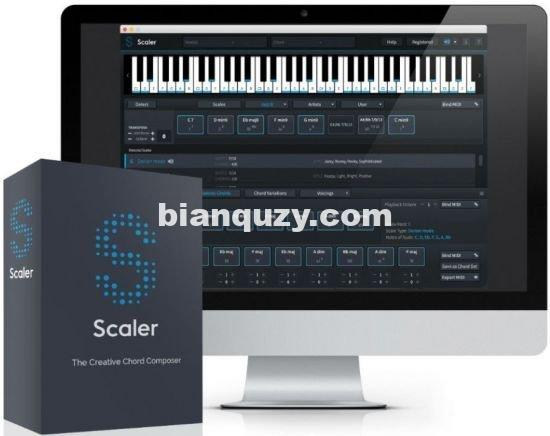 和弦助手 – Plugin Boutique Scaler 2 v2.3.0 [WiN,MAC]
