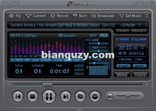 多功能媒体软件 – Cowon JetAudio 8.1.8.20800 Plus Win