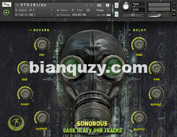 黑暗重低音合成音源 – Famous Audio Sonorous – Dark Heavy DnB Tracks KONTAKT-0TH3Rside