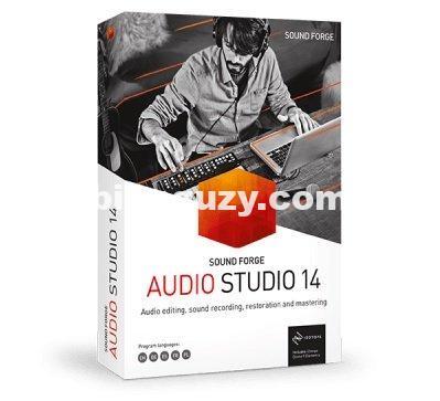 MAGIX SOUND FORGE Audio Studio 15.0.0.47 WiN