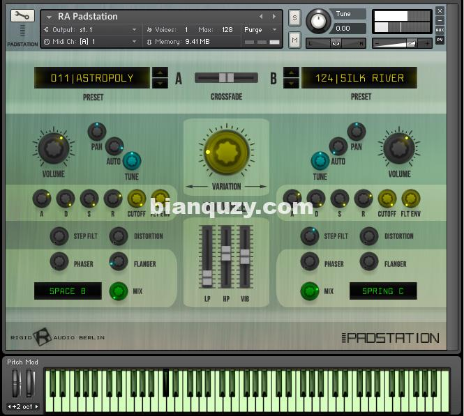 铺垫氛围环境音色 – Rigid Audio PadStation KONTAKT