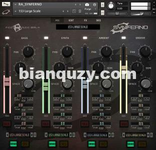 影视合成器 – Rigid Audio Synferno v1.1 KONTAKT
