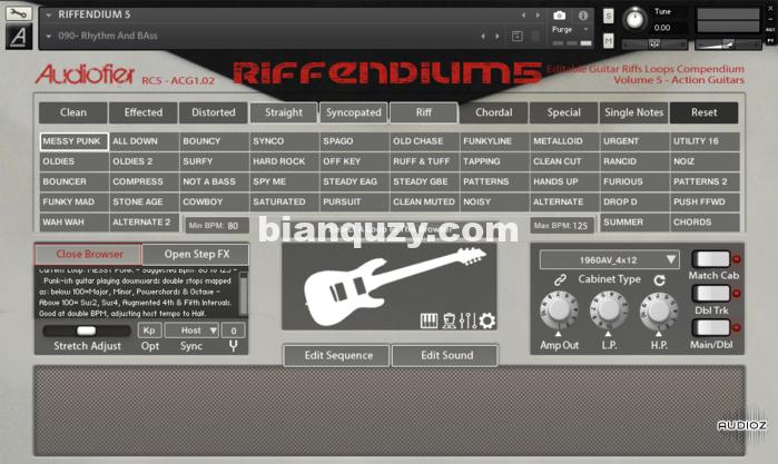 吉他riff音源 – Audiofier Riffendium 5 KONTAKT – SMOOVE GROOVES
