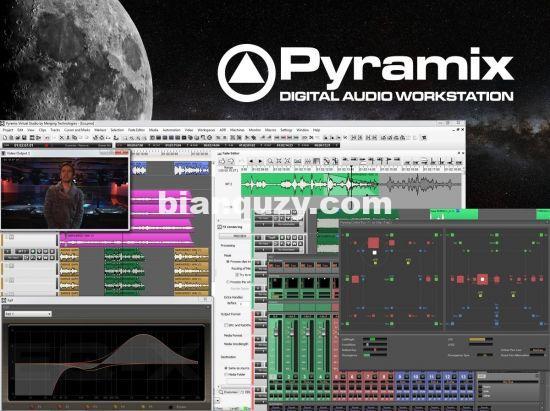 数字音频工作站 – Merging Pyramix 13.0.3 WIN