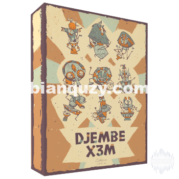 非洲打击乐器 – Strezov Sampling DJEMBE X3M KONTAKT