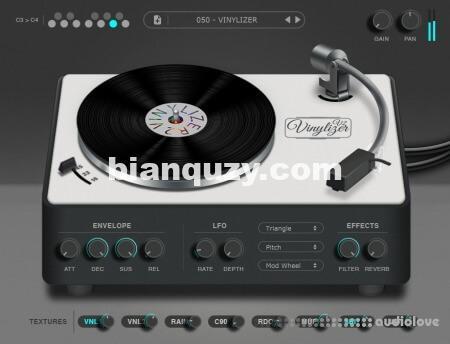 模拟黑胶唱片的声音 – Thenatan Vinylizer v2.0.0 [WiN, MacOSX]
