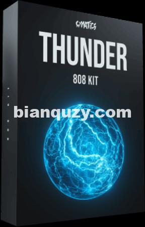 808采样 – Cymatics Thunder 808 Kit [WAV]