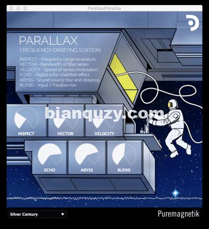 声码器/回声/混响多重效果器 – Puremagnetik Parallax RETAiL [WiN, MacOSX]