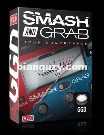 专业鼓压缩器 – GetGood Drums Smash and Grab v2.0.0 WiN