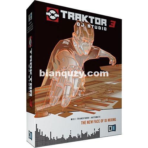 DJ软件 – Native Instruments Traktor PRO 3.4.2.256 MacOSX-HCiSO