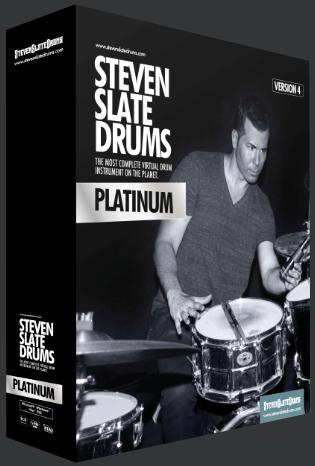 Steven Slate Drums Platinum 4 – 白金板岩鼓