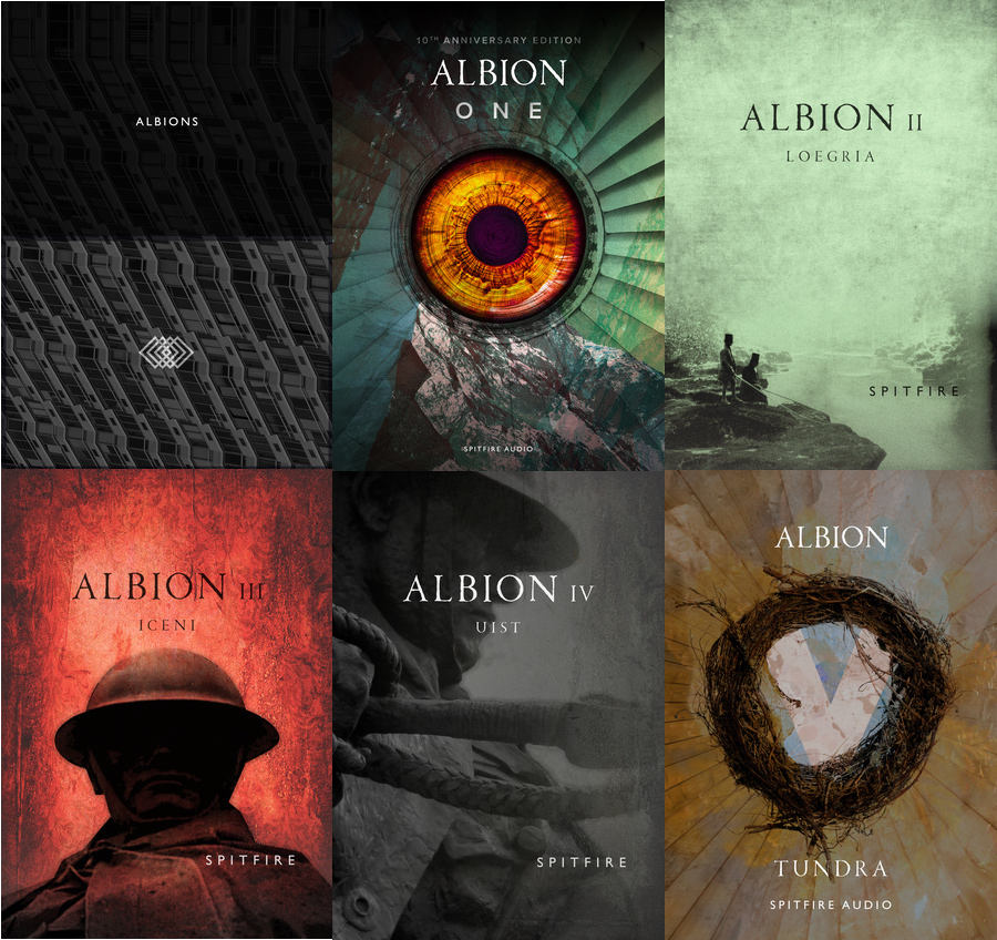 喷火管弦全套 – Spitfire Audio Albion I II III IV V One 5套总合集