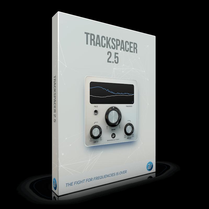 强大精确的侧链压缩器 – Wavesfactory Trackspacer v2.5.4 Win/Mac