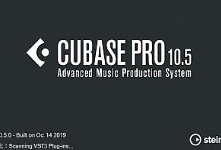 Cubase Pro 10.5 轻便版(仅几百M)