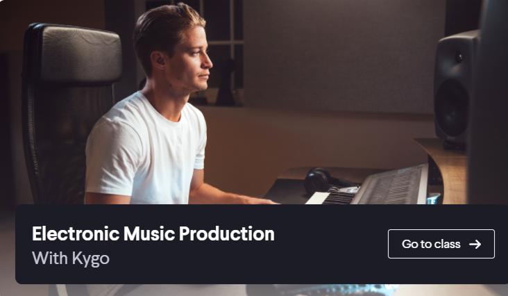 百大DJ教你制作电音!Kygo30天电子音乐制作教程